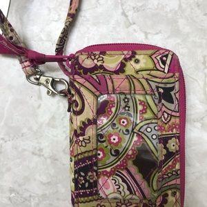 Vera Bradley Bags - Vera Bradley cellphone wristlet w/ ID window